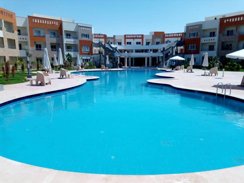 Swimming pools and lakes – Jumeirah Egypt